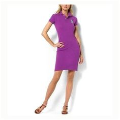 ralph lauren outlet online - Polo Ralph Lauren femme à pois Robe en coton  dans la acdd2898e5d