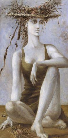 "Beyond the Esplanade, ""Dorothea Tanning"" 1940"