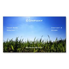 Landscaping Business Cards on Pinterest