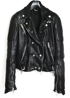 BURBERRY PRORSUM : Leather Biker Jacket | Sumally