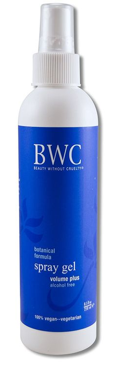 Beauty Without Cruelty 000056454703H Hair Gel Spray Volume 8.5 oz Liquid *** This is an Amazon Affiliate link. Read more at the image link.