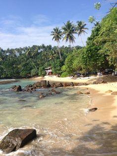 Coral Beach, Mirissa, Sri Lanka. #VisitSriLanka