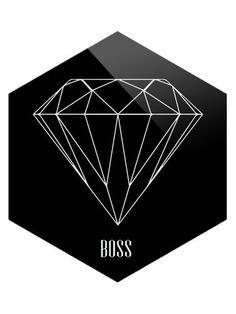 Like a Boss by Bohemian Riot (Plexiglass)