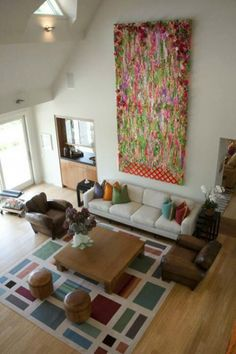 living room ideas, wall decor