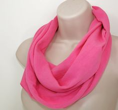 Shoply.com -Infinity Scarf Light Pink. Only $20.00