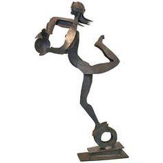 "Hansjorg Gisiger ""La Fortune"" Sculpture, 1989"