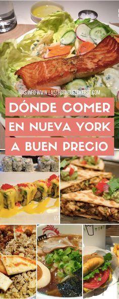 [GUÍA] Dónde comer en Nueva York a buen precio ACTUALIZADO 2017 #NuevaYork #NY #NYC #NewYork