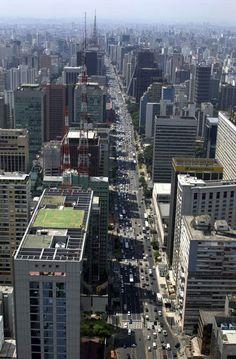 Avenida Paulista. São Paulo, São Paulo.