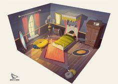 Animation and Game Backgrounds on Behance