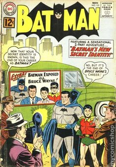 A cover gallery for the comic book Batman Robin Comics, Dc Comics Art, Batman Comic Books, Batman Comics, Comic Art, Comic Superheroes, Vintage Comic Books, Vintage Comics, Batman And Superman