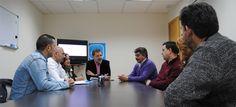 Jacobo Moreira se reúne con los representantes de los trabajadores de Ence
