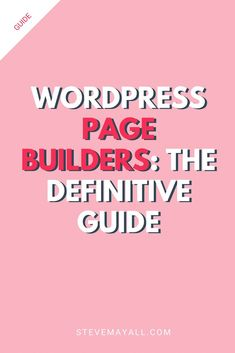 Love them or hate them WordPress page builders are increasing in popularity. Due in part because of increased demand from WordPress users who want more flexibility. And also down to increased competition from platforms such as Squarespace. In short If you want to build your website without relying on a developer, then a drag & drop page builder is a must. Read this post to learn all you need about the best WordPress page builders. #wordpress #blog #blogging #bloggingtips #onlinebusiness Layout Design, Web Design, Blog Design, Best Blogs, Wordpress Plugins, Blogging For Beginners, Make Money Blogging, How To Start A Blog, Platforms