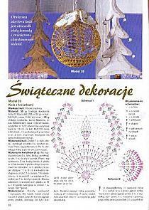 Bombki szydełkowe - Stylowi.pl - Odkrywaj, kolekcjonuj, kupuj