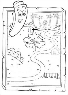 Dora67 doratheexplorer PRINTABLE COLORING PAGES FOR KIDS