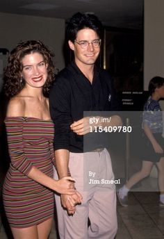 Lara Flynn Boyle & Kyle MacLachlan