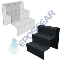 3 Three Tier Step Cupcake Muffin Party Perspex Acrylic Plastic Display Stand