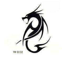 dragon tattoos for women - Bing Images Dragon Tattoo Simple, Small Dragon Tattoos, Dragon Tattoo For Women, Small Tattoos, Simple Dragon Drawing, Modern Tattoo Designs, Tatoo Designs, Dragon Tattoo Designs, Badass Tattoos