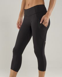 newest running crop from lululemon; I know I said I had enough running gear but....