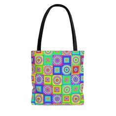 Delivery Bag, Sharpie Markers, Bag Patterns, Quilted Bag, Hippy, Bag Sale, Black Cotton, Flower Power, Etsy Store