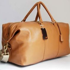 A Mulberry travel bag is a must for any self-respecting gentleman (or lady like me!)