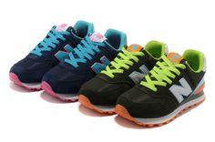 2013 nuevos auténtico New afluencia Balanza de mujeres modelos femeninos dulces Balance574 Nuevas zapatillas de deporte zapatillas de deporte de las mujeres NB