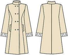 Обработка карманов в платье в рельефных швах