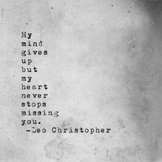 Leo Christopher • Never Stops