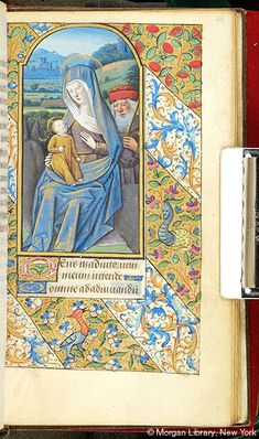 Book of Hours, MS M.1054 fol. 58r - Images from Medieval and Renaissance Manuscripts - The Morgan Library & Museum