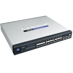 Switch Linksys SRW 2024 - 24 ports Gigabit