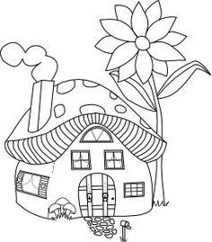 Beyond The Fringe Mushroomville Mushroom House And Sign Freebies