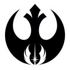 Rebel Alliance mixed with Jedi. Such a cool idea.