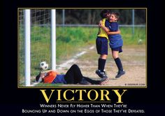 Victory Demotivator