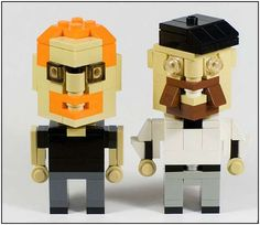these are the 'myth busters' guys in lego form. click the link to see other funny lego people.