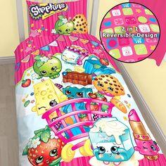 Shopkins Shopaholic Single Size Quilt Cover Set. Available at Kids Mega Mart online shop Australia www.kidsmegamart.com.au
