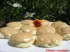 Biscuits, Cookie Recipes, Dessert Recipes, Scones, Mousse, Bbq, Deserts, Food And Drink, Pudding