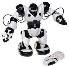 Robosapien Humanoid Toy Robot with Remote Control $99.99 http://www.innergeektoys.com/wowwee-robosapien-humanoid-toy-robot-with-remote-control/