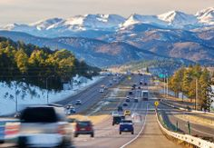 Been There, Done That ~ Driving into the Rocky Mountains, Colorado, USA on I-70 ~ nothing else like it!
