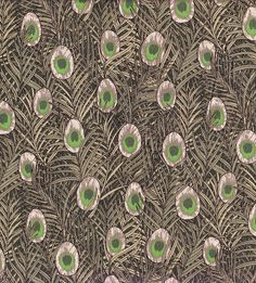 William Morris Peacock Print on Lawn Cotton Fabric, 56  wide, 4 colours