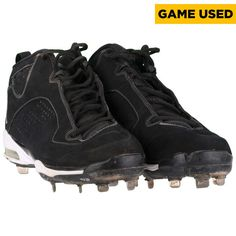 Derek Jeter New York Yankees Fanatics Authentic Game Used 2009 Black Cleat - $2499.99