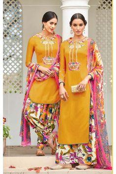 Yellow Santoon Dress Material #womensfashion #yellowsuit #santoonsuitset #ethnicsuits