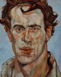 Lucian Freud Paddle8 After Lucian Freud Young Man Elana Winsberg
