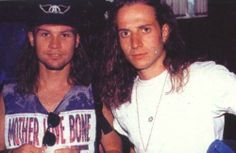 Jeff Ament and  Stone Gossard