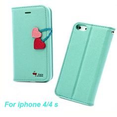 Apple iPhone Case Cover 5 Flip leather 5 5S SE 5G 5C 4S 4 Card S Holster