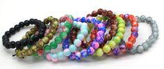 Free Shipping 2016 New Classic Women Jewelry Fashion Wild 8 MM Imitation Agate Bracelet Glass Painting For Women sa170♦️ SMS - F A S H I O N 💢👉🏿 http://www.sms.hr/products/free-shipping-2016-new-classic-women-jewelry-fashion-wild-8-mm-imitation-agate-bracelet-glass-painting-for-women-sa170/ US $0.48