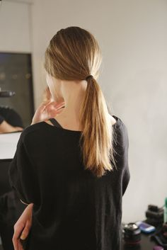 SUNO runway hair  Courtesy Greg Kessler