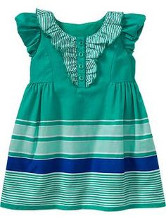 ruffled puff sleeve dress-old navy