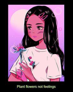 anime kunst inspiration / anime art inspiration – Best Home Plants Arte Do Kawaii, Kawaii Art, Cartoon Kunst, Cartoon Art, Vintage Cartoon, Girl Cartoon, Art And Illustration, Aesthetic Art, Aesthetic Anime