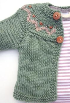 Cute baby cardigan baby cardigan with yoke etsy shop., I wish to have this cCute baby cardigan, Modry pre chlapca by bol zlatý, Cute baby cimage of hand knitted unisex baby cardigan wool amp silk orange - PIPicStatsRound yoke in garter with braided Knitting For Kids, Baby Knitting Patterns, Baby Patterns, Free Knitting, Knitting Needles, Baby Cardigan, Cardigan Pattern, Knit Baby Sweaters, Knitted Baby Clothes