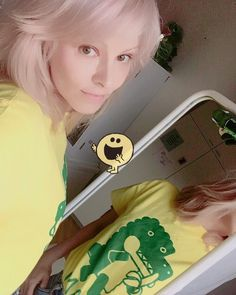 A #selfie just for the fun of it.. and a #🍌 #🐊 #bananawanien tee. #nomakeup #yesfilter #printtee #graphictee