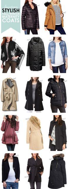 hellobee_fall winter maternity coats